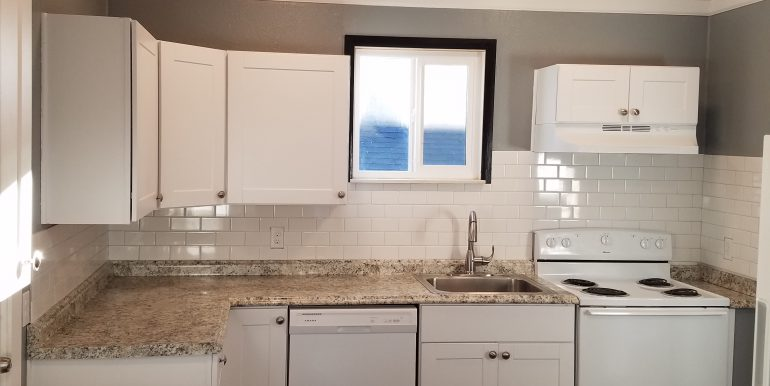 1107 W 8th St Remodel Jan 2 2019 kitchen stove sink dw (4)